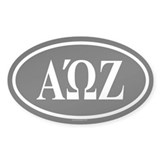 AOZ Oval Decal