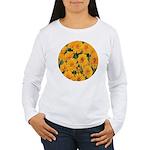 Coreopsis Early Sunrise Women's Long Sleeve T-Shir