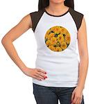Coreopsis Early Sunrise Women's Cap Sleeve T-Shirt