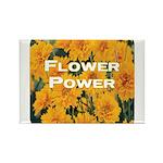 Coreopsis Flower Power Rectangle Magnet