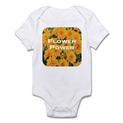 Coreopsis Flower Power Infant Bodysuit