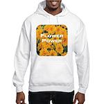 Coreopsis Flower Power Hooded Sweatshirt