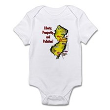 NJ-Liberty! Infant Bodysuit