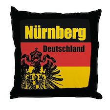 Nürnberg Deutschland Throw Pillow