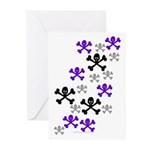 Skull'n'CrossbonesSwarm Greeting Cards (Pk of 10)