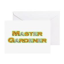 Master Gardner Greeting Card