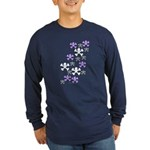 Skull'n'CrossbonesSwarm Long Sleeve Dark T-Shirt