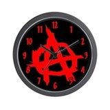 Anarchy Wall Clock