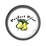 Perfect Pear Wall Clock