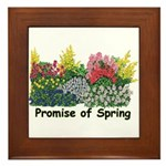Promise of Spring Framed Tile