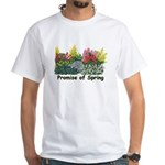 Promise of Spring White T-Shirt