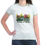 Promise of Spring Jr. Ringer T-Shirt