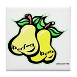 Perfect Pear Tile Coaster