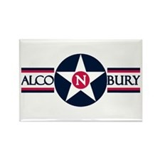 RAF Alconbury Rectangle Magnet