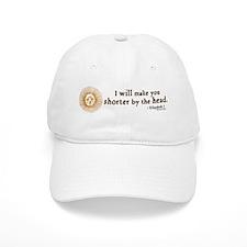 Elizabeth Beheading Quote Baseball Cap