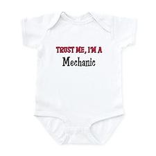Trust Me I'm a Mechanic Infant Bodysuit