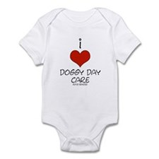 I Love Doggy Day Care Infant Bodysuit