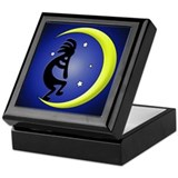 Kokopelli Moon Song Keepsake Box