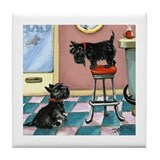 """Biscottie Cafe"" Art Tile"