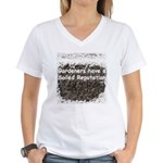 Gardener's soiled reputation Women's V-Neck T-Shir