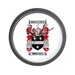 Whitaker Coat of Arms Wall Clock