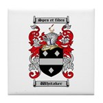 Whitaker Coat of Arms Tile Coaster