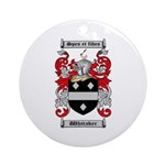 Whitaker Coat of Arms Ornament (Round)