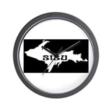 SISU - Michigan's Upper Penin Wall Clock
