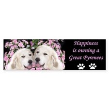 Great Pyrenees Creations Limited Bumper Bumper Sticker