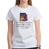 Tea & Books w Quote Tee