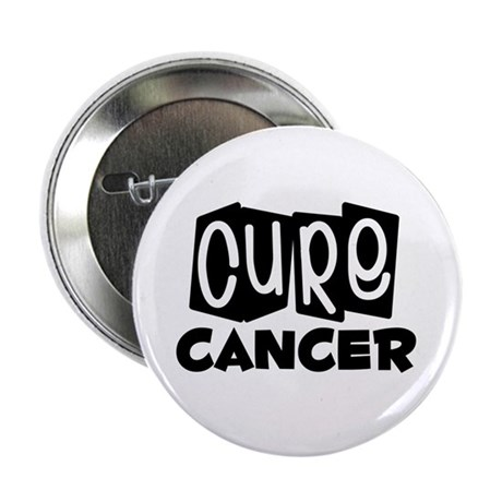 "Cure Cancer 2.25"" Button (10 pack)"