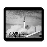 1st Rocket Launch, 1950 Mousepad