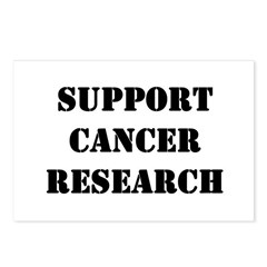 Support Cancer Research Postcards (Package of 8)
