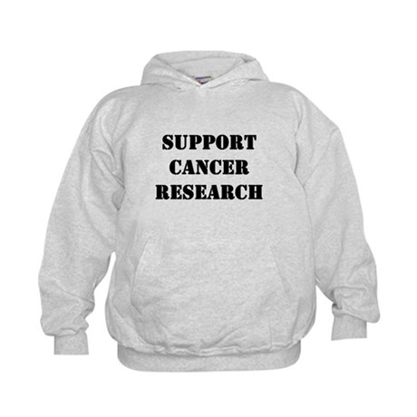Support Cancer Research Kids Hoodie