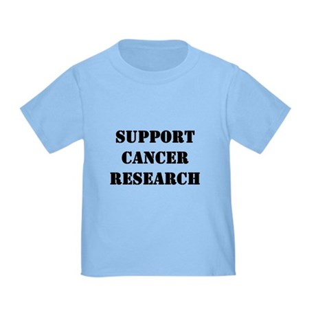 Support Cancer Research Toddler T-Shirt