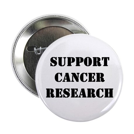 "Support Cancer Research 2.25"" Button"