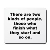 Robert byrne quotation Mousepad