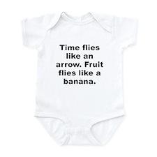 Funny Groucho marx quote Infant Bodysuit
