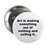 "Frank zappa quotation 2.25"" Button"