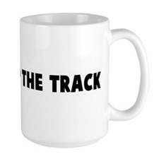 Burning up the track Mug