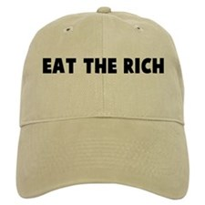 Eat the rich Baseball Cap