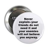 "Elbert hubbard quote 2.25"" Button"