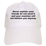 Funny Elbert hubbard quote Baseball Cap