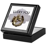 LUCKY YOU Keepsake Box