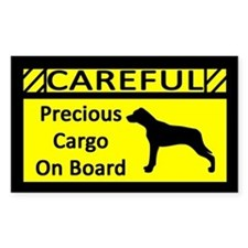 Precious Cargo Catahoula Leopard Dog Decal