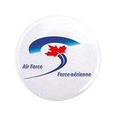 Royal Canadian Air Force 3.5&Quot; Button