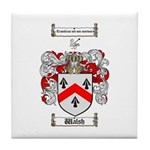 Walsh Coat of Arms Tile Coaster