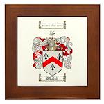 Walsh Coat of Arms Framed Tile