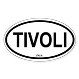 Tivoli Oval Decal