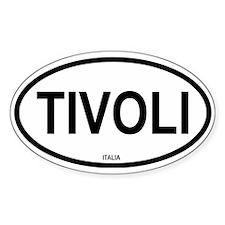 Tivoli Oval Decal